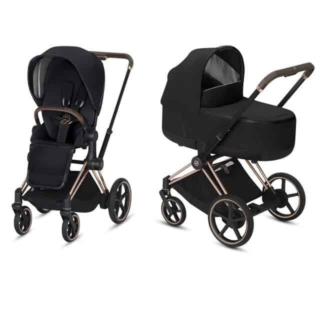 2 st barnvagnar, Cybex e-Stroller e-PRIAM