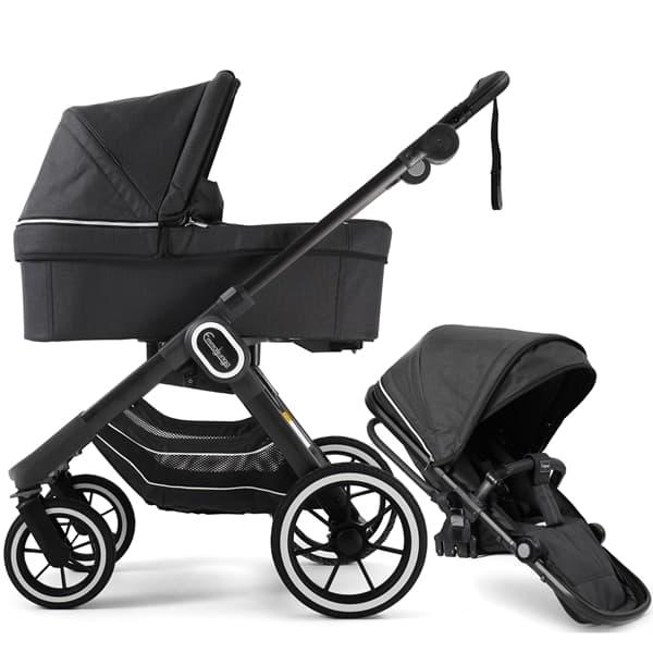 Svart barnvagn Emmaljunga NXT90