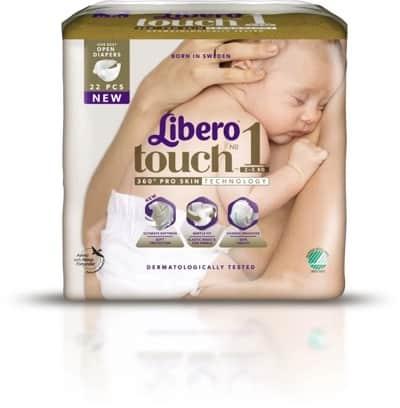 Bästa blöjorna Libero Touch